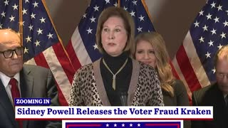 Sidney Powell Releases The Democrat Fraud Kraken