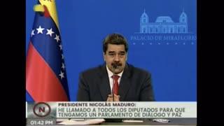 Maduro acusó a Iván Duque de planear asesinarlo el día de las elecciones