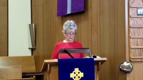 Sermon - The Sheep and the Goats - November 22, 2020