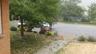 Hail Storm Pounds Colorado