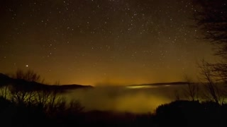 Fantastic Time Lapse Video of the Milky Way Glowing At Night.