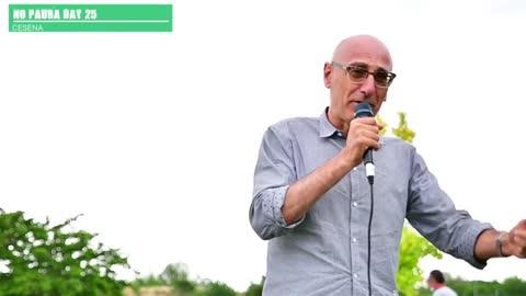 NO PAURA DAY 25, Cesena 29/5/2021, intervento di Paolo Svegli
