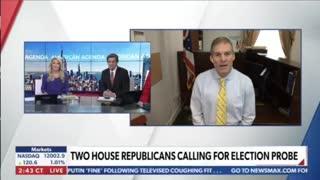 Rep. Jim Jordan on Newsmax TV 11.19.2020