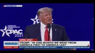 President Trump: Joe Biden Forgot He Had the COVID Shot
