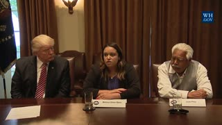 Donald Trump Hosts Victim Families at the White House
