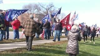 Wheaton #stopthesteal Rally