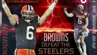 BAKER MAYFIELD AND CLEVELAND DEFEAT THE STEELERS