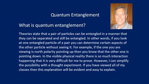 PS3b Quantum Entanglement