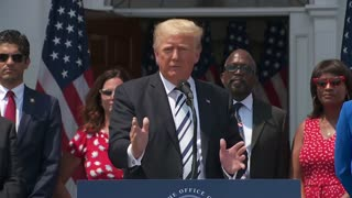 President Trump takes questions on a lawsuit against BigTech