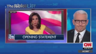 Anderson Cooper Mocks Trump's Grumbling at Fox News