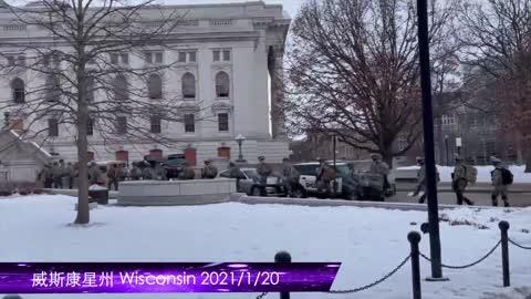 美國🇺🇸 進入軍管時期2021年1月20日