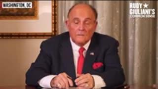 Rudy Guliani Speaks Crime AGAINST THE PEOPLE