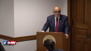 Ga. Senate Subcommittee on Elections holds hearing on voting machine irregularities.