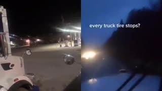 Truckers strike for Trump