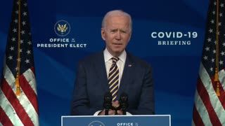 Biden thinks Americans will do as They're Told