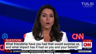 6 minutes that has America searching Tulsi Gabbard
