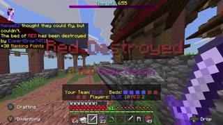 Minecraft Bedwars Chaos Mode Full Match #2