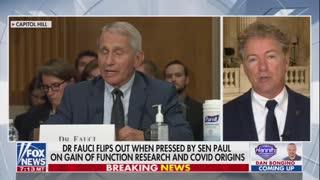 Huge: Rand Paul Has Had Enough of Dr. Fauci's Evasion Tactics!