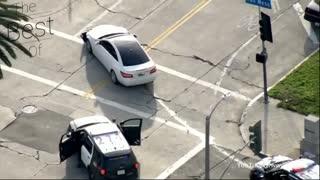 Crazy Police Chase Crash Compilation