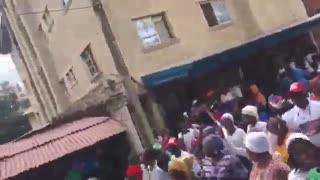 Massive Trump rally in... Nigeria!
