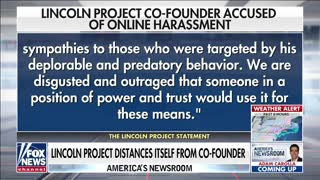 Lincoln Project co-founder accused of harassment