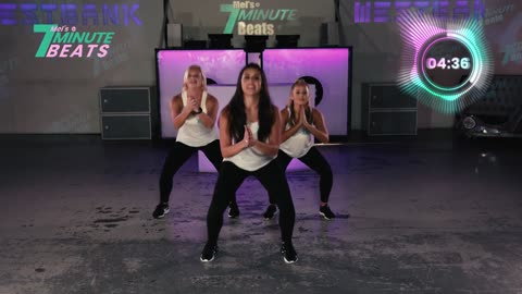 7 Minute Hit Dance Workout for Beginners I 7 Minute Beats (Level 1)
