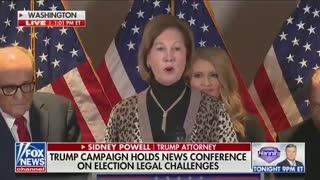Sidney Powell: President Trump Won By a LANDSLIDE