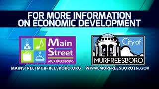 Main Street Murfreesboro Economic Development PSA