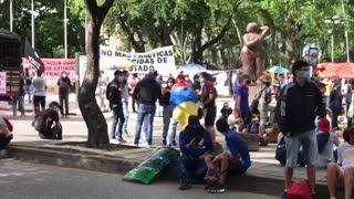 Manifestación parque San Pío