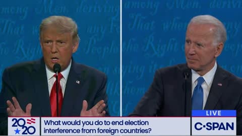 Trump Challenges Biden to His Face to Respond to His Family Scandal