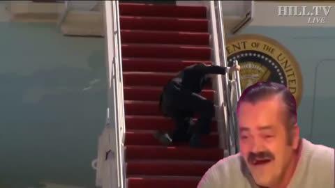 Top kek Biden staircase