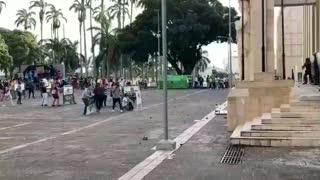Nueve detenidos tras desmanes en protesta contra abuso policial en Bucaramanga