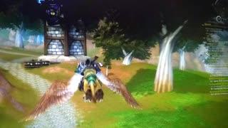 World of Warcraft Flight Around Redridge Mountains