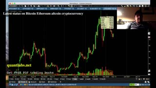 Latest trading status on Bitcoin Ethereum altcoin cryptocurrency