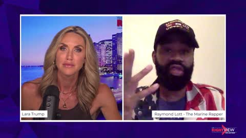 The Right View with Lara Trump and The Marine Rapper