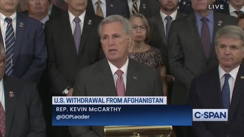 Leader McCarthy: What is the plan to get Americans out?