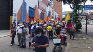 marcha en Bucaramanga 20 de julio