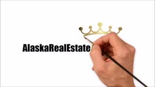 Alaska Real Estate King Drawn Logo Short