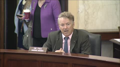 Dr. Rand Paul Addresses Unnecessary Spending and Abuse by SBIR Mills - September 22, 2021