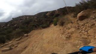 Mountain Biking Cheseboro Canyon Trail