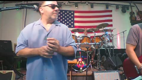 Chronic Blues Band performs Treat Her Right