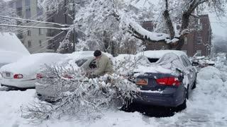 Salt Lake City pounded by damaging winter storm