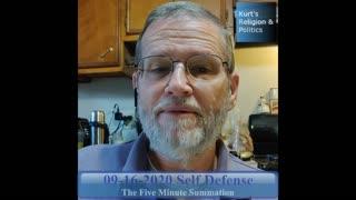 20200916 - Self Defense