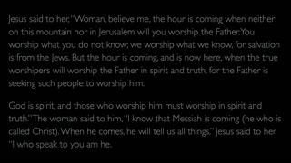 The Gospel of John - Chapter 4