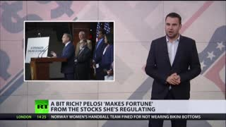 Pelosi's net worth more than $115 million.
