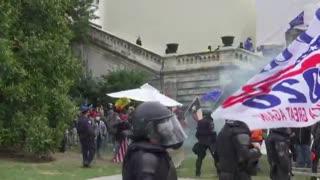 Trump supporters storm US Capitol building