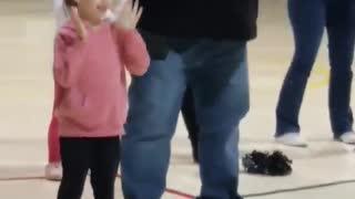 Grandma Dancing With Scared Granddaughter In Adorable Video