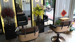 special Barber shop decor