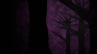 Spooky Trees (Royalty Free Looping Background)