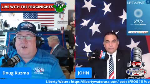 John Di Lemme LIVE on the Frog News Network